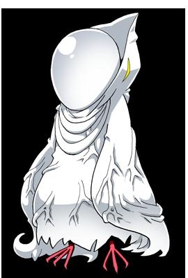 白いペンギン